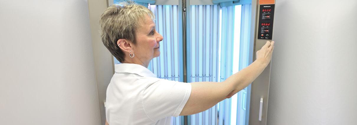 Hautarztpraxis Stuttgart West – Bestrahlung